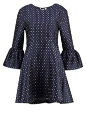 Sister Jane Saved By The Bell Cocktail Dress Party Dress Navy Dark Blue