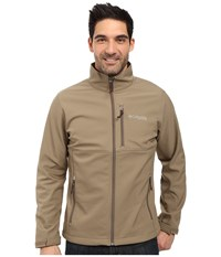 Columbia Phg Ascender Softshell Jacket Flax Ap Xtra Men's Coat Beige