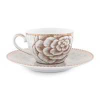 Pip Studio Spring To Life Cup And Saucer Cream