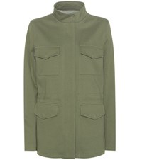 Closed Cotton Jacket Green