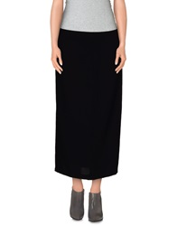 Won Hundred 3 4 Length Skirts Black