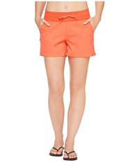 The North Face Aphrodite 2.0 Shorts Cayenne Red Heather Women's Shorts Orange