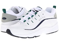 Easy Spirit Romy White Multi Leather Women's Lace Up Casual Shoes
