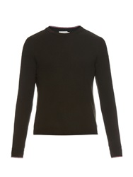 Moncler Crew Neck Wool Knit Sweater