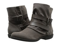 Blowfish Alias Grey Fawn Steel Grey Dyecut Pu Women's Boots Black