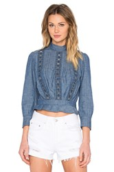 Citizens Of Humanity Josie Top Blue