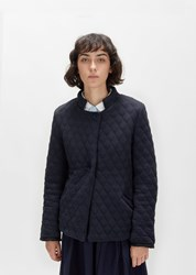 Casey Casey Quilted Double Faced Jacket Navy
