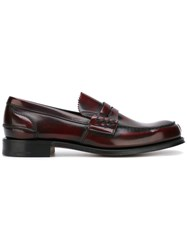 Church's Gradient Effect Loafers Red