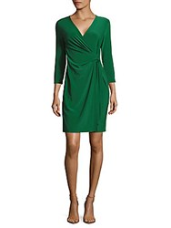 Jones New York Classic Surplice Wrap Dress Drake
