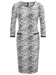 Planet Jacquard Textured Dress Planet