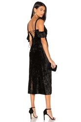 Rachel Zoe Kinsley Velvet Gown Black