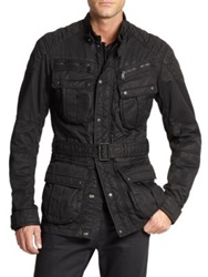 Ralph Lauren Black Label Suspension 4 Pocket Jacket Black