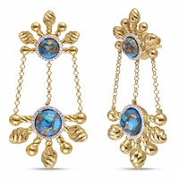 Lmj Sunny Cascade Earrings Gold