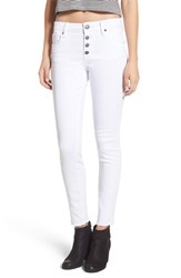 Sts Blue Women's Button Fly Skinny Jeans