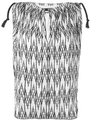 Isabel Marant Sleeveless Chevron Print Top White