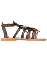 K. Jacques Frega Sandals Grey