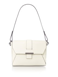 Kenneth Cole Lennox Shoulder Bag Bone