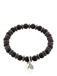 Bootleggers Black Onyx Beaded Bracelet