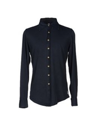 Authentic Original Vintage Style Shirts Dark Blue