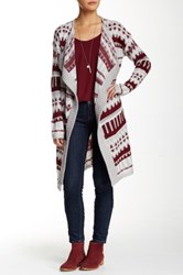 Romeo And Juliet Couture Patterned Cardigan Red