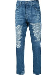 Ag Jeans Distressed Jeans Blue