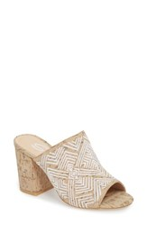 Sbicca Tania Mule White