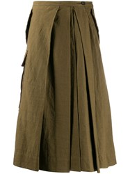 Ziggy Chen Pleated Wide Leg Trousers 60
