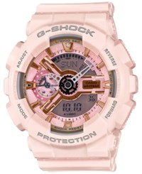 G Shock Women's Analog Digital Light Pink Bracelet Watch 49X46mm Gmas110mp 4A1