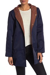 Eileen Fisher Hooded Jacket Midnt
