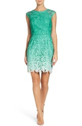 Adelyn Rae Women's Ombre Lace Sheath Dress