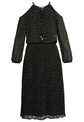 Michael Michael Kors Cocktail Dress Party Dress Moss Dark Green