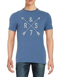Roamers And Seekers Compass Graphic Tee Teal