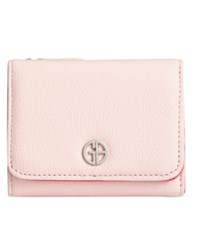 Giani Bernini Colorblock Softy Trifold Wallet Created For Macy's Blush Granita