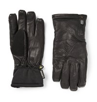 Burton Guide Gore Tex Leather And Stretch Jersey Ski Gloves Black