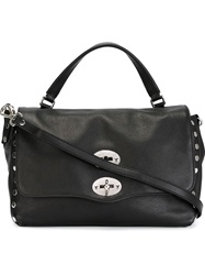 Zanellato Medium 'Postina' Satchel Black