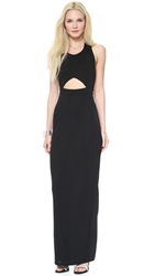 Aq Aq Dickinson Maxi Dress Black