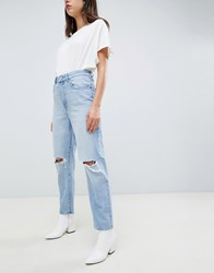 Dl1961 Susie High Rise Tapered Leg Jean Blue