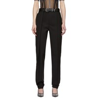 Y Project Black Oversized Waist Trousers