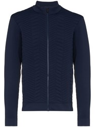 Kjus Rays Stitched Front Insulated Jacket Blue