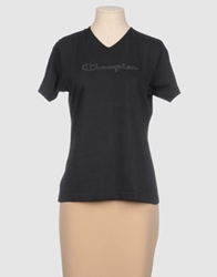 Champion Short Sleeve T Shirts Black