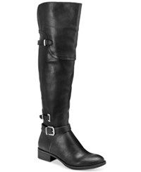 Styleandco. Style Co. Adaline Over The Knee Boots Only At Macy's Women's Shoes Black