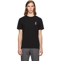 Maison Kitsune Black Acide Fox T Shirt