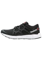 Reebok Hexaffect Run 4.0 Cushioned Running Shoes Black White