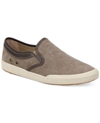Bass Hopewell Canvas Slip On Sneakers Men's Shoes Smoke