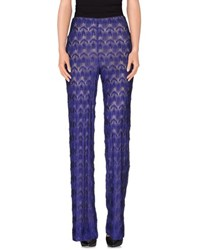 Missoni Trousers Casual Trousers Women Blue