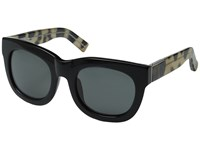 3.1 Phillip Lim Pl159c2sun Black Cheetah Fog Green Fashion Sunglasses