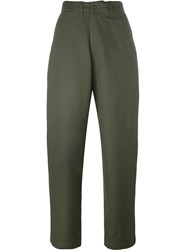 E. Tautz Field Trousers Nude And Neutrals