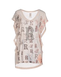 Replay Topwear T Shirts Women Beige
