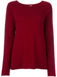 Apuntob Round Neck Jumper Red