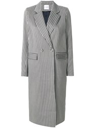 Roseanna Double Breasted Coat Grey